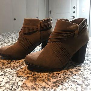 Brown BAMBOO Booties